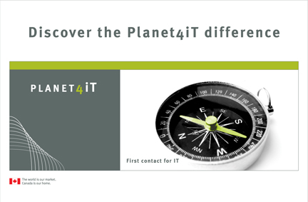 Planet4iT Booth